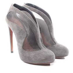 ALAïA Damen Ankle Boots grau, Größe 40, 4921822