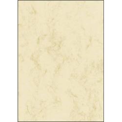 Sigel DP372 Motivpapier Marmor DIN A4 90 g/m² Beige 100 Blatt
