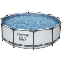 BESTWAY Steel Pro Max Frame Pool Set 366 x 100 cm inkl. Filterpumpe