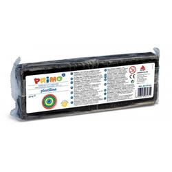 Primo Knete Plastilin Knete im Block, Spiel-knete 550 g, in versch. Farben schwarz