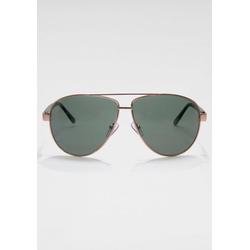 ROUTE 66 Feel the Freedom Eyewear Sonnenbrille klassische Fliegerbrille grün