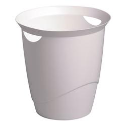Papierkorb »opak« 16 L weiß, Durable, 33x33 cm