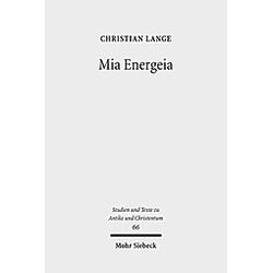 Mia Energeia. Christian Lange  - Buch