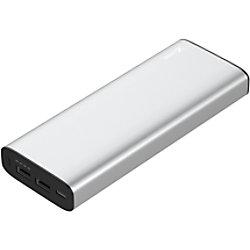 XLayer Powerbank Plus MacBook 20100mAh Silber