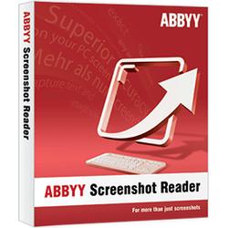 Abbyy Finereader Screenshot Reader