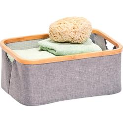 Zeller Present Aufbewahrungsbox grau Körbe Aufbewahrung Ordnung Wohnaccessoires