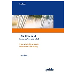 Der Bescheid. Helmut Linhart  - Buch