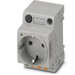 Phoenix Contact Schaltschrank-Steckdose EO-CF/PT/LED/F Grau 1St.