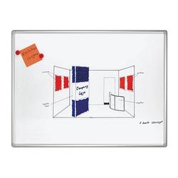 FRANKEN Whiteboard PRO 90,0 x 60,0 cm emaillierter Stahl