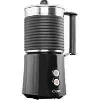 KOENIC KMF 5212 Milchaufschäumer, Edelstahl/Schwarz, 650 Watt, 0,4 Liter