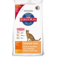 Hill's Science Plan Feline Adult Optimal Care Huhn 10 kg