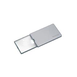 Eschenbach Optik Standlupe Taschenleuchtlupe easyPocket silber 3x