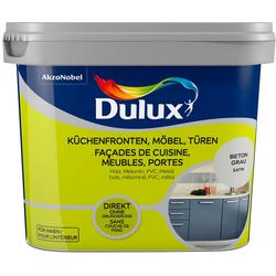 Dulux Holzlack Fresh Up, für Küchen, Möbel, und Türen, beton grau, 0,75 l