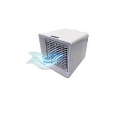 HTI-Living Mini USB-Ventilator Mini Klimaanlage 7 LED Farbstufen