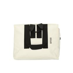 BREE Umhängetasche PNCH 736 Shopper 44,5 cm weiß
