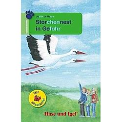 Storchennest in Gefahr / Silbenhilfe. Judith Le Huray  - Buch