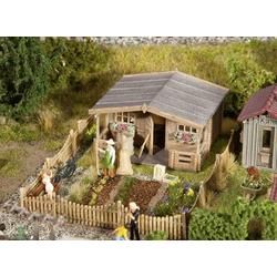 Faller 180493 H0 Schrebergarten mit großem Gartenhäuschen Bausatz
