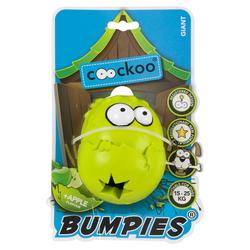 Coockoo Hundespielzeug Bumpies Apfel, Maße: 11 x 8,7 x 7,5 cm