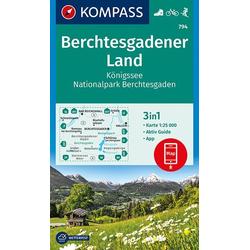 Berchtesgadener Land Königssee Nationalpark Berchtesgaden 1 : 25 000