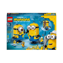 LEGO® Konstruktions-Spielset LEGO® Minions 75551 Minions-Figuren Bauset mit