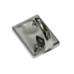 Gardinenstange Raffhaken selbstklebend chrom 2,5 cm, GARDINIA