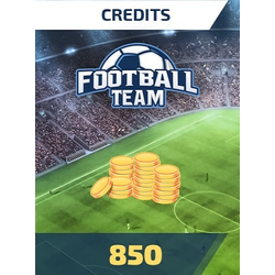 Football Team 850 Credits - footballteam Key - GLOBAL