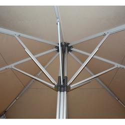 """Doppler 4-fache LED Schirmbeleuchtung für Gastroschirm """"Goliath 5 x 5 m"""",,"""