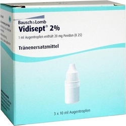 VIDISEPT 2% Augentropfen 30 ml