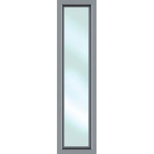 KM MEETH ZAUN GMBH Seitenteile S01, für Alu-Haustür, BxH: 60x208 cm, grau grau