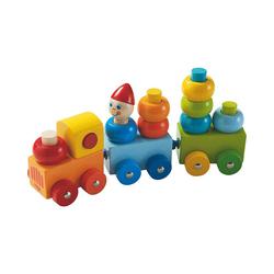 Haba Steckspielzeug HABA 5126 Entdeckerzug Farbkringel