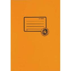 Heftschoner A5 100% Altpapier orange