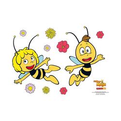 Die Biene Maja Wandsticker Wandsticker Biene Maja und Willi, 67 x 47 cm