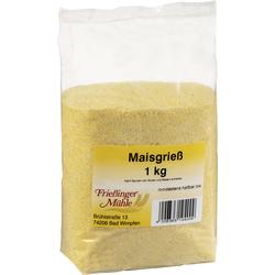 Frießinger Mühle Polenta Maisgrieß Zubereitung für Polenta 1000g