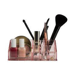 "SEE∙MANN∙GARN Kosmetikbox Kosmetik Organizer ""Valerie"" rosa"