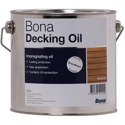 Bona Decking Oil 2,5 Liter Neutral Terrassenöl