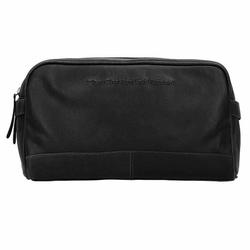 The Chesterfield Brand Stefan Kulturbeutel Leder 29 cm zwart