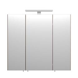 Badezimmer Spiegelschrank in Walnussfarben Steckdose