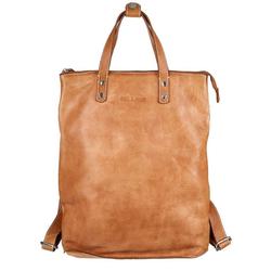 Bull & Hunt Rucksack shopper backpack, Rucksack, Cross-over, Shopper braun