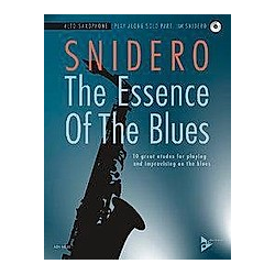 The Essence Of The Blues Alto Saxophone - Buch