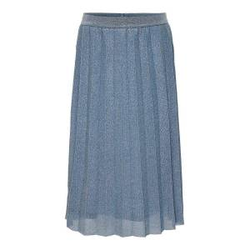 ONLY Plissee Midirock Damen Blau Female 122/128
