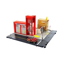 Mattel® Spielzeug-Auto Matchbox Feuerwache Spielset