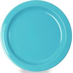 WACA Teller, (4 Stück), Kunststoff, Ø 14 cm blau