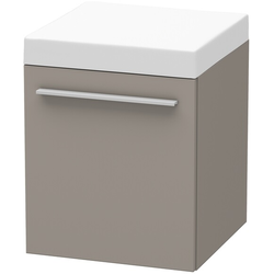 Duravit Rollcontainer X-LARGE 400 x 400 x 510 mm basalt matt
