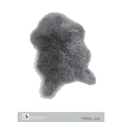 Bertels Microfaser Teppich Schafsfell Anthrazit