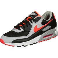 Nike Men's Air Max 90 black/white/wolf grey/radiant red 42