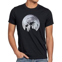 style3 Print-Shirt Herren T-Shirt Quidditch turnier sport besen schnatz XL