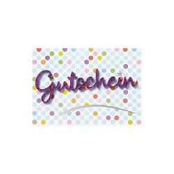 Perleberg Karte Gutschein Lettering 778 5006