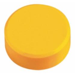 Kraftmagnet 34mm Durchmesser 2kg Haftkraft 20 Stück gelb