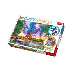 Trefl Puzzle Crazy Puzzle - 600 Teile - schöner Himmel über, Puzzleteile