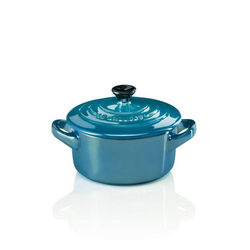 LE CREUSET Römertopf Mini Cocotte blau